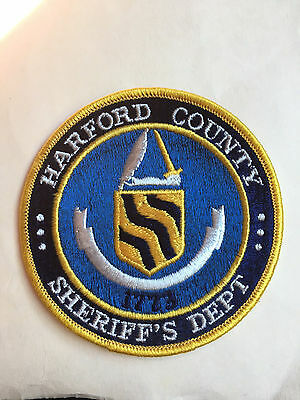 Harford  County  Maryland  Sheriff  Shoulder Patch