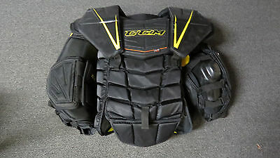 Lightly Used CCM Premier Pro Stock Goalie Chest Protector Size XL Flyers