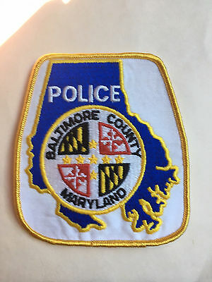 Baltimore  County  Maryland  Police  Shoulder Patch