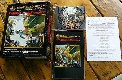 New! Core Rules Cd Rom Expansion Sealed Advanced Dungeons and Dragons 2.0