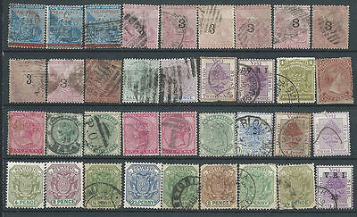 """South African """"States"""" Collection inc Cape of Good Hope. OFS, Natal, Transvaal"""