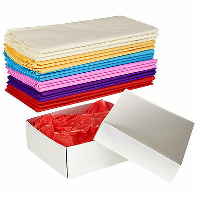 Tissue Paper 50x70cm Coloured Gift Wrap Sheets Wrapping Arts Kids Stuffing Crepe