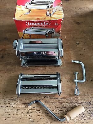 Imperia Pasta Machine, Barely Used,in excellent condition Italian Made