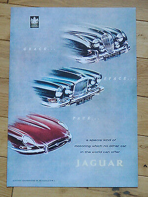 A3 Jaguar Cars stylish poster