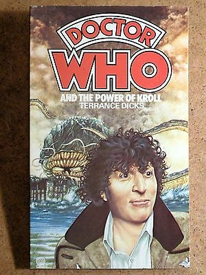Doctor Dr. Who And The Power Of Kroll. Vintage Target Book Sci-Fi TV Tie-In