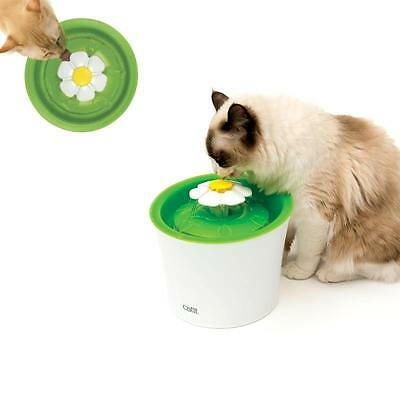 "Catit 2.0 Katzen Trinkbrunnen ""Blume"" - Flower Fountain, water dispenser 43742W"