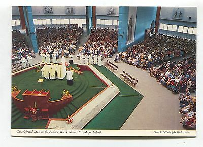 Knock Shrine, Co. Mayo - Mass, Basilica - John Hinde modern-size postcard