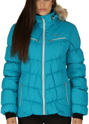 Dare2B Refined II Ladies Waterproof Jacket - Blue