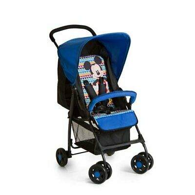 HAUCK Disney Mickey Geo Blue Lightweight Sport Pushchair buggy pram+Raincover