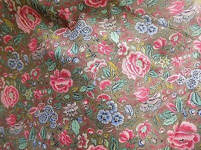 Liberty Fabric 'rosemary' 8Ft X 56'' Vintage Chic
