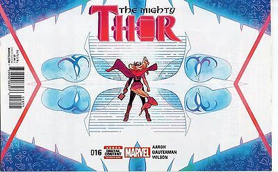 Mighty Thor #16 (NM)`17 Aaron/ Dauterman (1st Print)