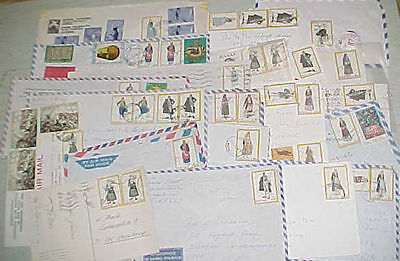 Greece  Costumes  25 Covers Includes 2 Registred, 3 Express Mostly To Usa