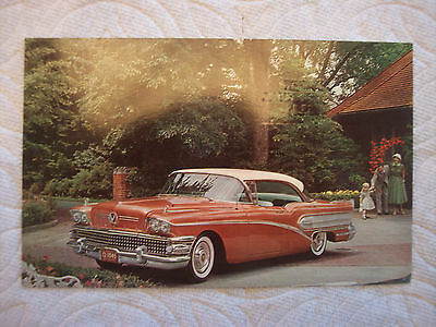 1958 Buick Special Post Card
