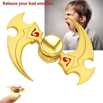 Hand Spinner Finger Fidget Metal Hybird Bearing Gyro Kids Adult Focus Toys BF