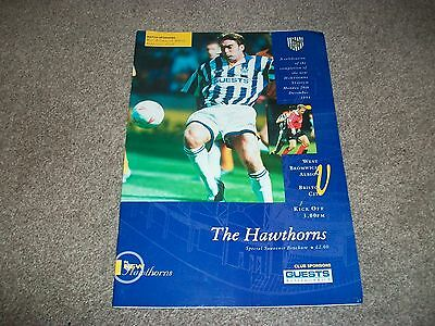 WEST BROMWICH ALBION v BRISTOL CITY Special opening of the new Hawthorns 1994/5