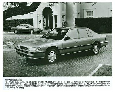 1989 Acura Legend Automobile Factory Photo ch5698