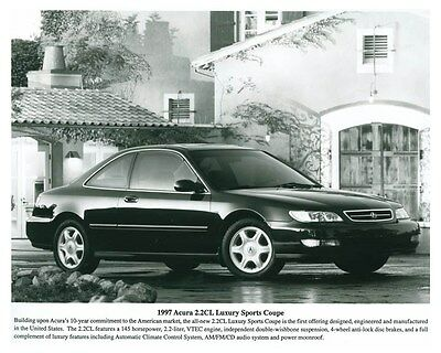 1997 Acura 2.2 CL Luxury Sports Coupe Automobile Factory Photo ch5685