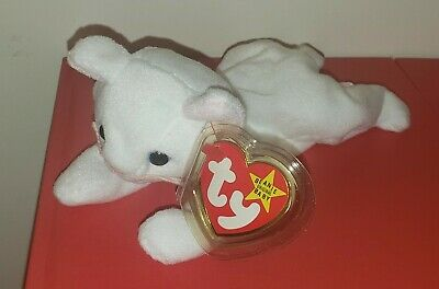 Ty Beanie Baby ~ FLIP the White Cat ~ MWMT