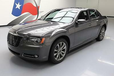 "2014 Chrysler 300 Series  2014 CHRYSLER 300 S AWD PANO ROOF NAV 20"" WHEELS 21K MI #337206 Texas Direct"