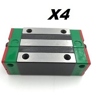 4X--HIWIN-HGH20CA Linear Rail Block Carriage Slider