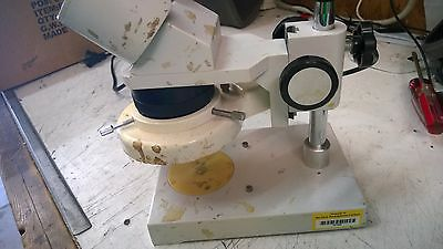 Untested Broken Small 10X Microscope As-Is Us