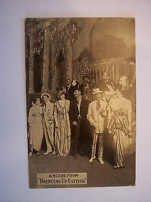Early Theatre Play Advertisement Post Card, Bringing Up Father