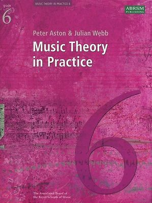 Music Theory In Practice Grade 6 (ABRSM) Revised Sheet Music Book Learn NEW