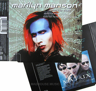 MARILYN MANSON Rock Is Dead UK PROMO ONLY Sleeve (Used for instore Display) MINT