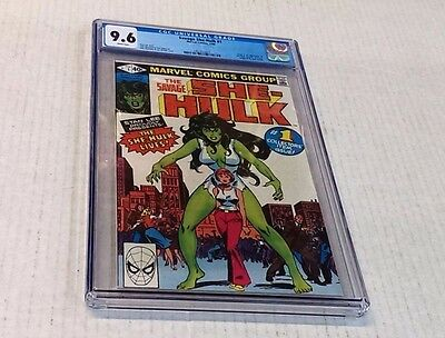 SAVAGE SHE HULK #1 - CGC 9.6 / White Pages - NM/MT - 1st Jennifer Walters