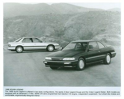 1988 Acura Legend Automobile Factory Photo ch5722