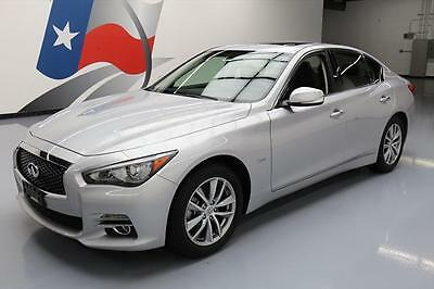 2016 Infiniti Q50 Base Sedan 4-Door 2016 INFINITI Q50 2.0T PREMIUM SUNROOF REAR CAM 13K MI #202629 Texas Direct Auto
