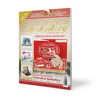Crafting With Hunkydory Magazine  ~ Cardmaking Guide ~ Christmas Special 2017