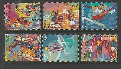 United Nations, 1996,the 3 areas, Sport & the Environment, UM/MNH