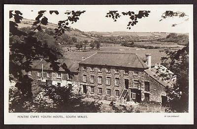 REAL PHOTO POSTCARD PENTRE CWRT YOUTH HOSTEL CARDIGANSHIRE WALES c1950