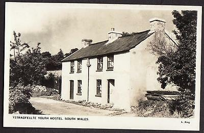 REAL PHOTO POSTCARD YSTRADFELLTE YOUTH HOSTEL BRECONSHIRE WALES c1950