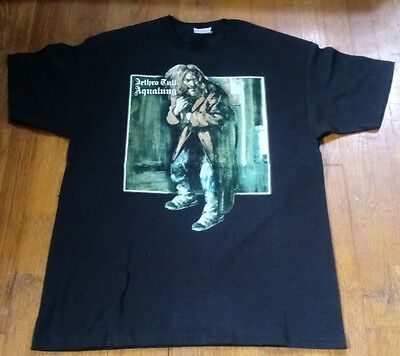2011 Jethro Tull Aqualung Tour T-Shirt Black L Ian Anderson Graphic Concert Tee