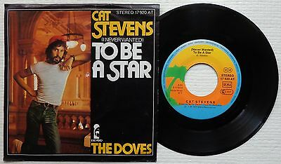 """CAT STEVENS '(Never Wanted) To Be A Star' 1977 German 7""""/45 rpm vinyl single"""