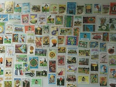 500 Different Benin Stamp Collection
