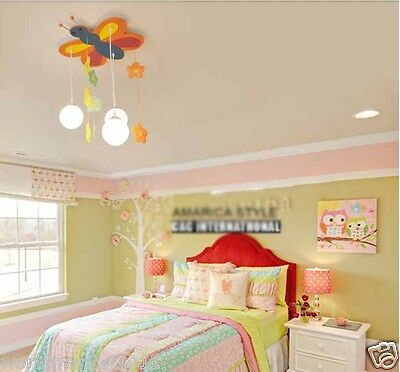 Delicate Creative Cartoon Fashion 3 Lamps Total Height 70CM Children Lighting