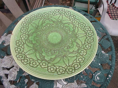 Charlotte Rhead Crown Ducal 1930s Large Charger / Plate
