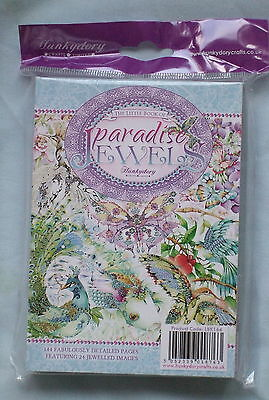 Hunkydory The Little Book of Paradise Jewels - SEALED