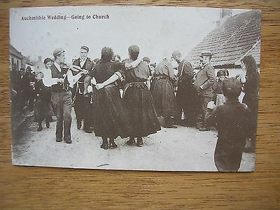 Auchmithie Wedding- Going To Church, P/m 1906, Crowded Scene