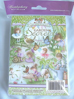 Hunkydory The Little Book of Garden Secrets - SEALED