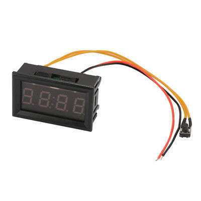 4-Digit 0.4inch Car Onboard Electronic Clock Time Blue LED Display Panel MA1224