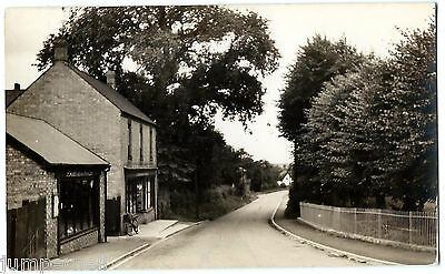 ORWELL, nr. Cambridge - Town Green Road + Huddlestone & Sons shop - RP