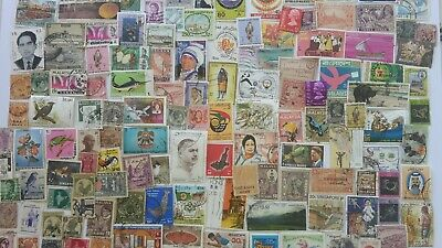 2000 Different British Asia Stamp Collection