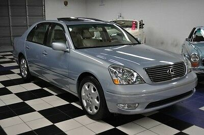 2003 Lexus LS ONLY 88K MILES - CARFAX CERTIFIED - X-CLEAN !!!! 2003 Lexus Carfax Certified! GORGEOUS COLORS - SUPER CLEAN!!