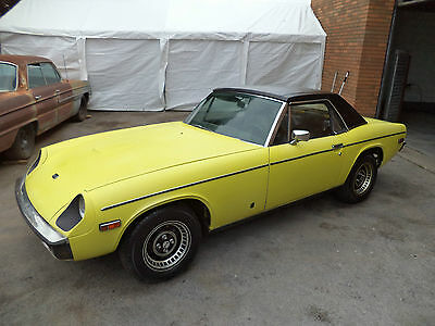 Jensen Healey 2.0 Lotus Convertible(1974) Yellow! 1 Lady Owner Just 44K! Rare!