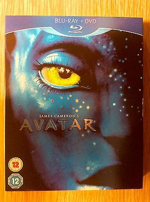 Blu-ray DVD Slipcase Only  -  NO DISCS Included  -  James Cameron's Avatar