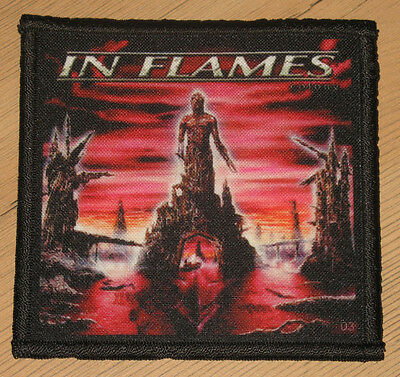 "IN FLAMES ""COLONY"" silk screen PATCH"
